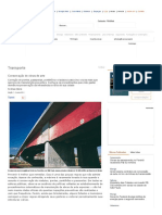 Conservação de Obras de Arte _ Infraestrutura Urbana