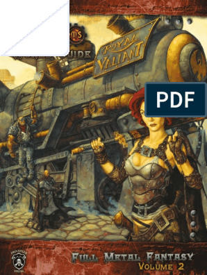 Iron Kingdoms - Full Metall Fantasy Vol2 - World Guide | License