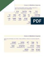 Eclesiastes 12.1-7 Em Hebraico