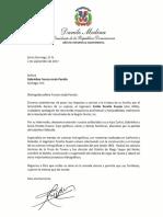 Danilo Medina se solidariza con familiares de Emilio Peralta Zouain, exdirectivo de la AIREN