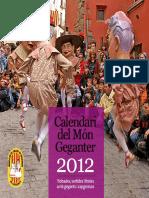 Calendar i Mong e Ganter 2012