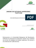 Presentación UES Tultitlán