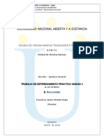 Trabajo de Entrenamiento Practico Unidad 2quimica General