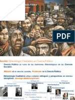Metodologia Cualitativa en Ciencia Politica