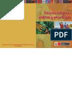 Relatos Indigenas Andinos y Amazonicos