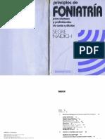 SEGRE NAIDICH Principios de Foniatria Para Alumnos y Profesionales de Canto y Diccion