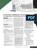 La Estructura, Organización Organismos Constitucionales - Parte 1