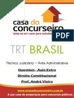 Apostila Questoes Aula Extra Trt Brasil Direito Constitucional Andre Vieira