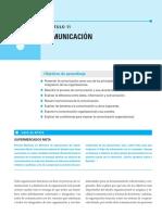 1.3. Chiavenato (2009). Comunicación (Cap. 11) [Es de La Segunda Ed., No de La Primera]