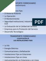 Transporte Ferroviario (Avanzando)