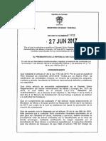 Decreto 1102 Del 27 de Junio de 2017