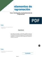 S1_Introducción a Los Fundamentos de Programación