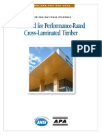 Ansi Apa Standard for Perf Rated CLT Oct2012