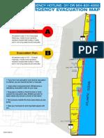 Zonas de riesgo y plan de evacuación en Broward