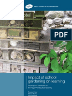 Impact of School Gardening on Learning