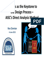 20150604 AISC Direct Analysis Method Ziemian SEAoP Rev3