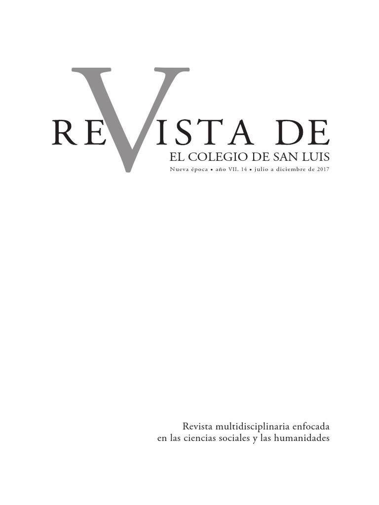 revista de EL COLSAN