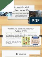 Situación Del Empleo en El Perú