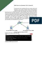 Konfigurasi DHCP Pada VPCS (Virtual PC Simulator) Di GNS3