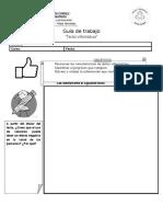 Guía textos informativos 1°medio