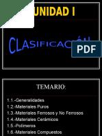Clasificacion General de Materiales