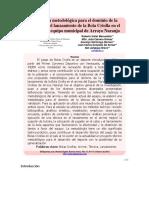 Propuesta Metodológica Para El Dominio de La Técnica en El Lanzamiento de La Bola Criolla en El Arrime Del Equipo Municipal de Arroyo Naranjo