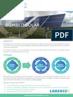 Opcion Renovable - Bombeo Solar