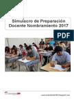 Simulacro de Preparación Docente Nombramiento 2017.pdf