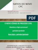 Desafios DO Novo Cpc - Dra. Josiane
