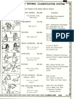 Dewey Decimal Lesson Worksheets With Answers