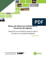 Minas de Glencore Xstrata en Espinar