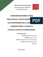 Informe individual Secado