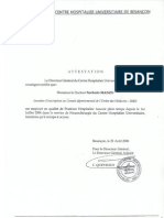 attestation affaires medicales Besançon