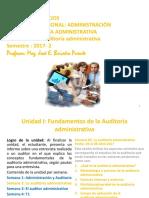 PPT Semana 2 AA La Auditoría Administrativa