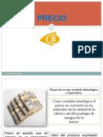 Precio y Plaza