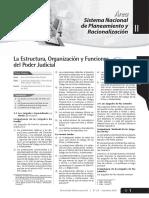 La Estructura, Organización y Funciones Poder Judicial -2da SETIEMBRE 2010