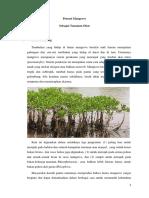 Tugas Botani Potensi Mangrove