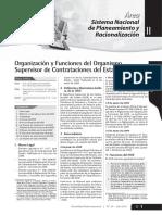 Organización y Funciones Del OSCE - JULIO 2011