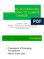 Emerging Occupations