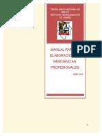 Manual de Residencias Profesionales 2015 (2)(1)