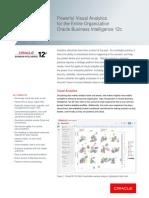 Oracle BI 12c Data Sheet 2745977