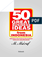 50 Great Business Ideas From Indonesia