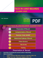 Workshop on Best Practices in Land Records 16-17-Feb-2015 - Presentation - Gujarat's Best Practices (1)