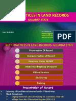 Workshop on Best Practices in Land Records 16-17-Feb-2015 - Presentation - Gujarat's Best Practices (1)