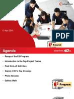 E3 Program_Kick Off Meeting_15042016
