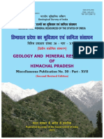 Report Himachal Pradesh State Geology and Mineral Maps Geological Survey of India 0