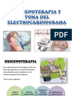 Oxigenoterapia y Toma Del Electrocardiograma