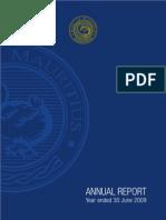 BOM Annual Report 0809