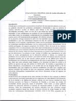 Vazquez Chagoyan (2006) Las Reformas Educativas_2c Más de Cuatro Decadas de Fracasos