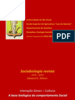 EEH-Aula 11 -2015 - Interação Genes Cultura - Sociobiologia Revista